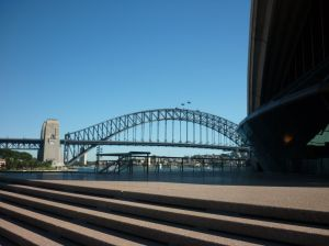 Sydney Harbour Bridge meets Sydney Opera House