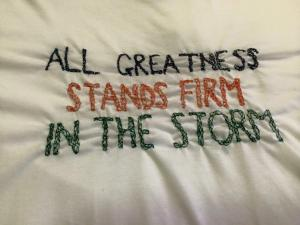 All Greatness Stands Firm In The Storm