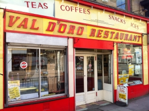 The Val Doro Restaurant in Glasgow. Put it on the Bucket List...