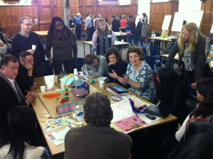 Design Thinking with colleagues in Oxford